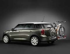 MINI Cooper Countryman Rear Bike Carrier 2011-2013, rear light not available. (Tampa Bay Cycling)