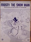 Vintage Piano Sheet Music (Frosty the Snow Man)