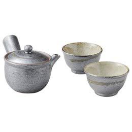 【まとめ 5セット】 信楽焼 Sumi-iro ふたり茶器 M80410830 B07KNTWWLC