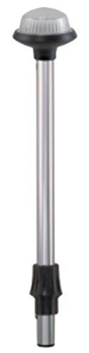 PERKO 1460dp5chr Türschließer 106,7 cm All Around Light Frosted Globe Light Pole by Perko