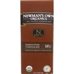 Espresso Dark Chocolate Bars (12-3.25 OZ) Espresso Dark Chocolate Bars - Own Chocolate Bar Newmans