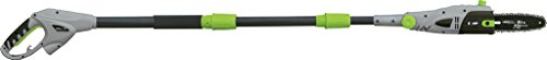 Earthwise PS43008 8-Inch 6-Amp Corded Electric Telescopic Pole Saw with 3-Position Head