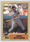 Matt Williams (Baseball Card) 2001 Topps Traded & Rookies - [Base] - Chrome Retrofractor (T126 Set)
