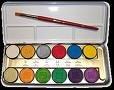Ben Nye Lumiere Grande Colour 12 Color Palette - Ben Nye Palette