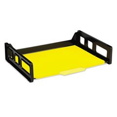 Recycled Desk Tray, Side Load, 9 x 13 3/16 x 2 3/4, Letter,