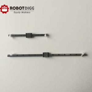 Ochoos Robotdigg 440C SUS Acero Inoxidable MGN5 Guía lineal con ...