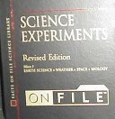 img - for Science Experiments on File (Facts on File Science Library) book / textbook / text book