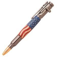 Gunmetal Bolt Action Pen Kit From Psi