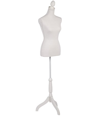 Display Dress Form Mannequin - Mannequin Dress Form Female Dress Model Torso Display Mannequin Body 60-67 Inch Height Adjustable Tripod Stand