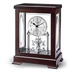 Bulova Empire Anniversary Mantel Clock, Brown
