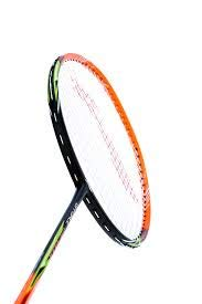 LI-NING Badminton Racket G-Force Series Player Edition Light Weight Carbon Graphite Shaft 78 + GMS with Full Carrying Bag Cover (Lite 3900 I - Black/Orange)
