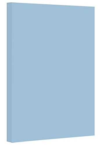 Cover Colored Pastel (Blue - Colored Card / Cover Stock 67lb. Size 8.5 X 14 Legal / Menu Size 50 Per Pack)