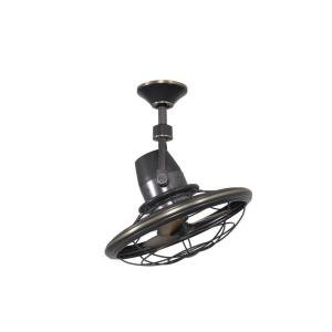 Bentley II Outdoor Tarnished Bronze Oscillating Ceiling Fan with Wall Control by Home Decorators Collection