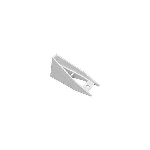 (Raingo RW112 White Gutter Bracket Spacer 5 Piece)