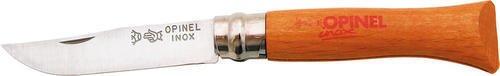 Opinel 3 5 8  Closed  Beechwood Handle Knife
