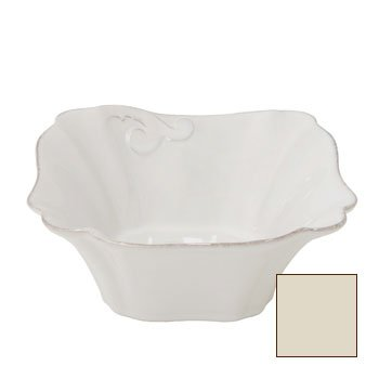 Casafina Arabesque Cream Square Cereal Bowl