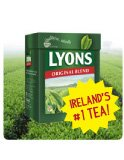 Lyons Original Irish Tea. 80 Bags