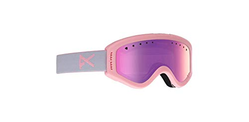 - Anon 185271 664 Pink Tracker Visor Goggles Lens Category 1 Lens Mirrored Size 6