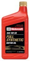 5w50 Ford Motorcraft XO-5w50-QGT Full Synthetic Motor Oil 12 qt case by Motorcraft