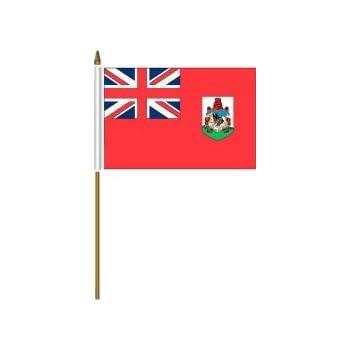 "Wholesale Lot of 6 Angola 4/""x6/"" Desk Table Stick Flag"