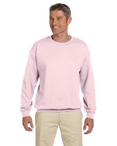 (Jerzees Men's Super Sweats Crew Neck Sweatshirt, Classic Pink, Small)