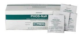 [Itm] 100/boîte [Acsry Pour]: Chaque paquet contient: 280 mg POTASSIUM, SODIUM 160 mg, 250 mg PHOSPHORE
