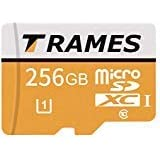 TRAMES 256GB Micro SD Memory Card High Speed Class 10 Micro SD SDXC Card with SD Adapter