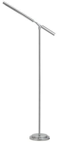 High Quality OttLite T92BNT Vero Floor Lamp In Brushed Nickel
