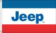 Car Flags 3x5 FT Jeep Flag Sewn Stripes Custom Colors Available US Made