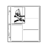 Printfile Holds 10 31/2INX51/4IN Prints 25 Pack - Printfile 3510P25 by Print File