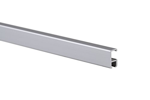 STAS picture hanging system: STAS minirail silver 150cm + installation kit