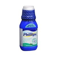 Phillips Milk of Magnesia Fresh Mint Saline Laxative, 12 FZ (Pack of 4)