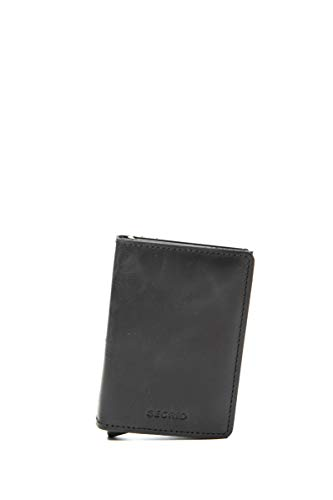Secrid Men Slim Wallet Genuine Leather RFID Card Case Max 12 Cards
