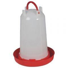 Kleintierzuchtbedarf at Ö sterreich 3 Liter Geflü gelträ nke mit Bajonettverschluss rot Wachtelträ nke Hü hnerträ nke