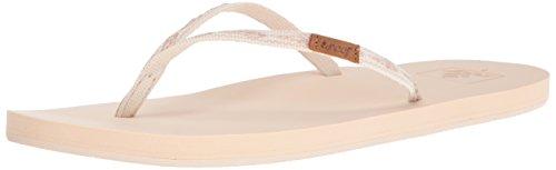 - Reef Women's Slim Ginger Sandal, Natural, 10 M US