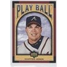 Chipper Jones (Baseball Card) 2004 Upper Deck Play Ball - [Base] #85