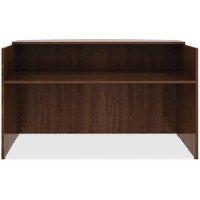 Lorell 14.9'' Reception Desk in Walnut