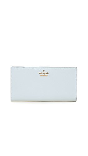 Kate Spade New York Women's Cameron Street Stacy Wallet, Shimmer Blue, One - Blue Spade Kate