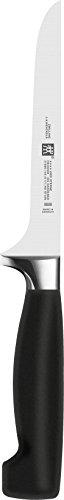 Zwilling Vier SterneAusbeinmesser, 140 mm (Rostfreier Spezialstahl, Zwilling Sonderschmelze, Kunststoff) schwarz