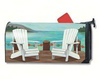 Magnet Works Mailwraps Lake Life Chairs Original Magnetic Ma