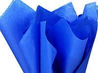 - Bulk Royal Presidential Sapphire Blue Wrap Tissue Paper 20 Inch X 30 Inch - 48 XL Sheets-Flexicore Packaging®