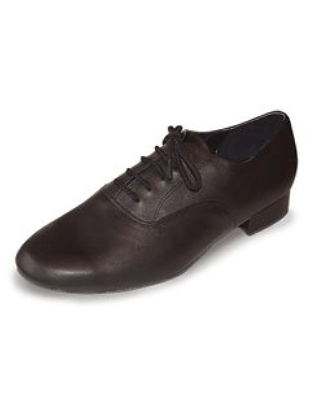 Roch Valley 'BLB' Boys Leather Ballroom Shoe Black 3 UK / 36 EU