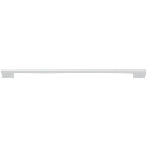 Atlas Homewares AP12-WG 18 in. Thin Square Appliance Pull, High White Gloss