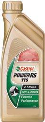 Castrol Power RS TTS 2T 100% Synthetic Oil - 1L. (Castrol 2 Stroke Oil)