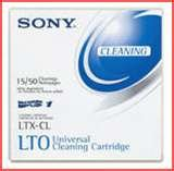 Sony Tape Lto Ultrium-1 2 3 4 5 & 6 Clng Ctdg 50 Pass Universal by Sony Electronics Inc.