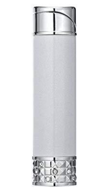 - Colibri Allure Soft Flame Ladies lighter - Silver & Chrome