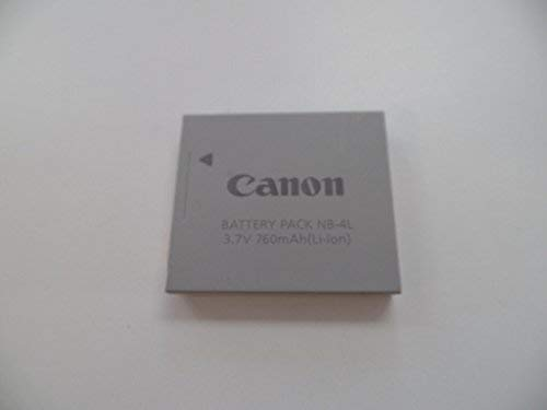 CANON 9763A001AA CANON� NB-4L REPLACEMENT BATTERY Canon Powershot Sd1100 Is Digital Elph Camera