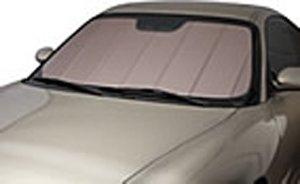 Covercraft UVS100 - Series Custom Fit Windshield Shade for Select Jaguar XF Models - Triple Laminate Construction (Rose)