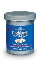 Silver Foam (Pack of 12) by GODDARD POLISH ()