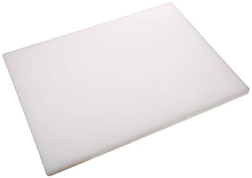 Winco CBH-1824 Cutting Board, 18-Inch by 24-Inch by 3/4-Inch, White (Cutting Board Star)